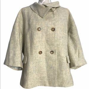 🇨🇦Vintage Swing Coat by Talbots Bell Sleeves